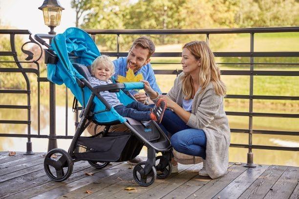 wózek na spacer z dzieckiem wózek Baby Design Clever