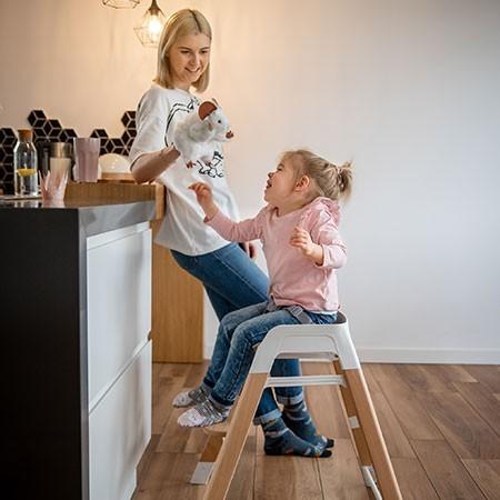 krzesełko dla dziecka 4w1 sense