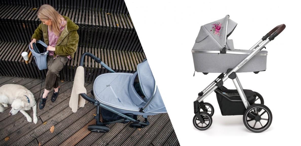 jaki wózek dla dziecka wybrać: wózek Baby Design Bueno