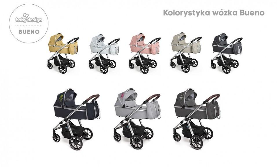 wózek Bueno Baby Design: kolorystyka