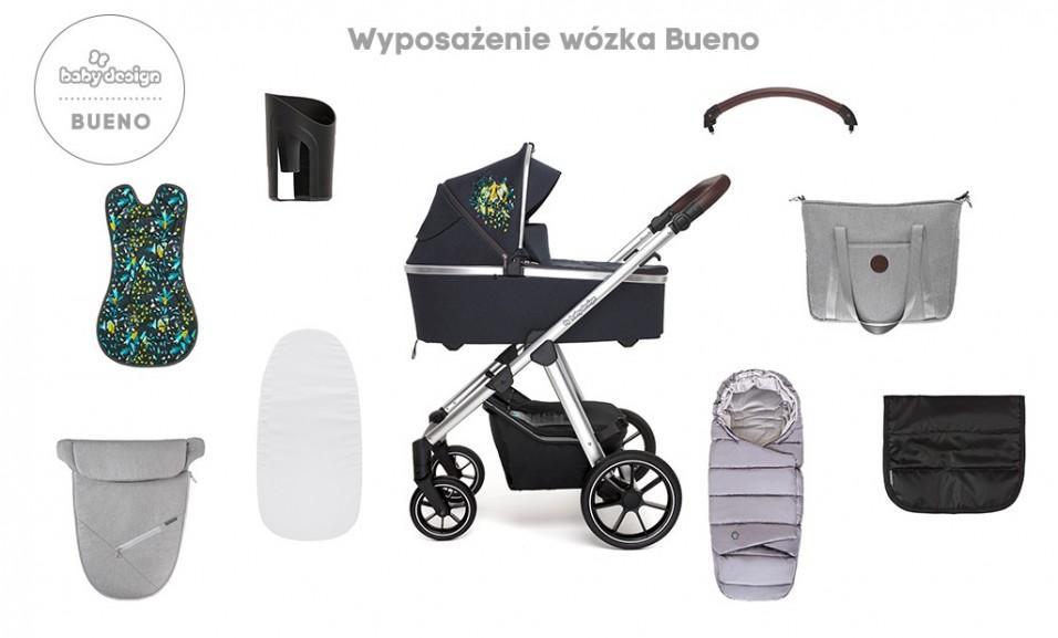wyposażenie wózka Baby Design Bueno