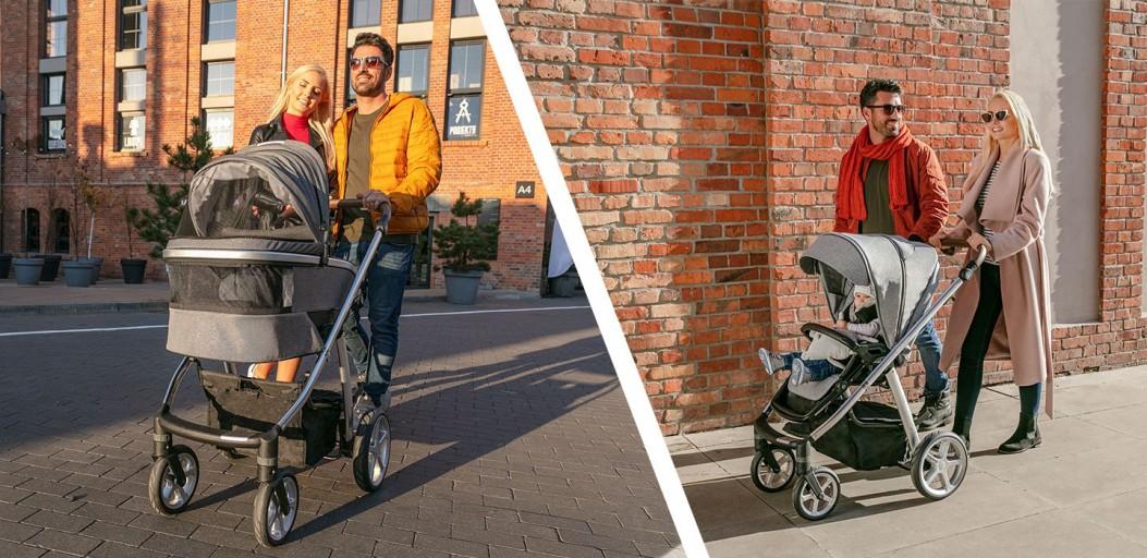 Pełnowymiarowy wózek wielofunkcyjny Espiro Next Melange 2.0