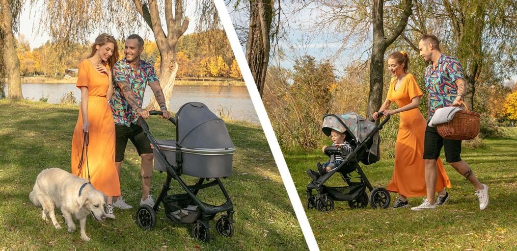 Nietuzinkowe miejsca na wiosenny spacer z dzieckiem w wózku Espiro Sonic Air 2020