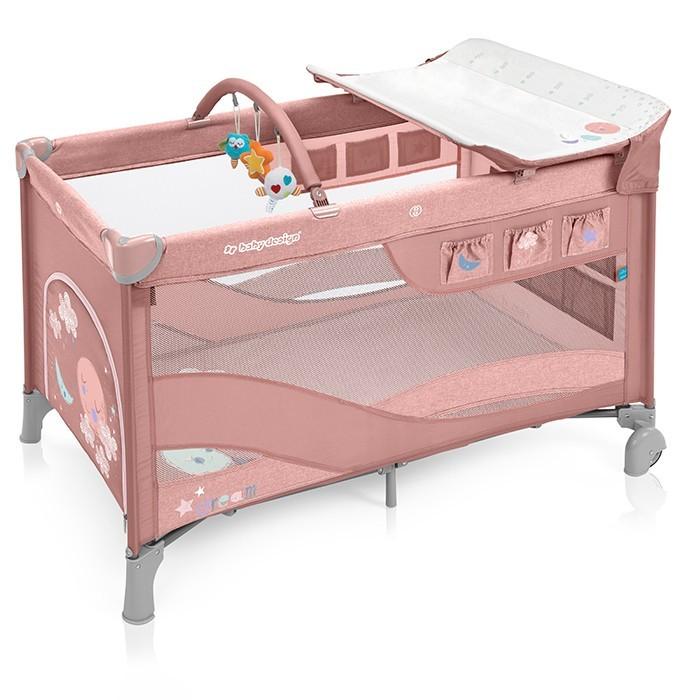 łóżeczko turystyczne Baby Design Dream