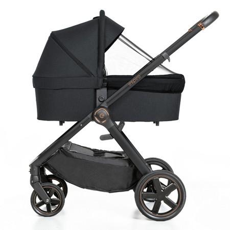 Espiro Only black & rose gold wózek 2w1